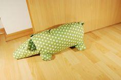 Nähanleitung: Schweinchen nähen (Türstopper)