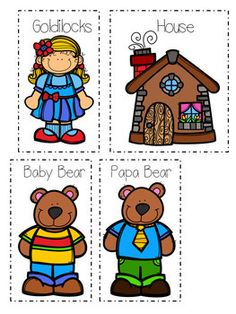 Fairy Tail Books, Fairy Tales, Bear Activities Preschool, Beginning Middle End, Bear Clipart, Goldilocks And The Three Bears, Bear Theme, Toddler Books, School Themes