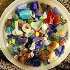 #myobsession #seaglass #huntingtonbeach