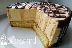Un desert ce se topește în gură. Vanilla Cake, Cheesecake, Pudding, Sweets, Diet, Desserts, Food, Napoleon, Pies