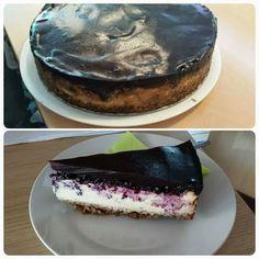 Tvarohovo-čučoriedkový cheesecake