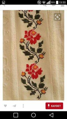 The most beautiful cross-stitch pattern - Knitting, Crochet Love Cross Stitch Letters, Cross Stitch Borders, Cross Stitch Rose, Cross Stitch Samplers, Cross Stitch Flowers, Cross Stitch Designs, Cross Stitching, Cross Stitch Embroidery, Embroidery Patterns