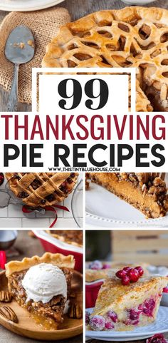 End your Thanksgiving feast on a sweet note with one of 99 best decadent Thanksgiving pie recipes that are a perfect addition to any Thanksgiving table. hotel restaurant travel tips Pie Recipes, Fall Recipes, Holiday Recipes, Baking Recipes, Dessert Recipes, Healthy Recipes, Christmas Recipes, Holiday Pies, Pie