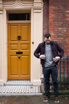 Mens street style. Menswear for AIDA Shoreditch, London.