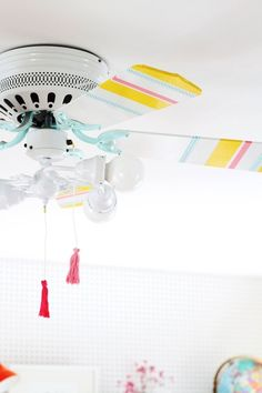 How To Make Any Ceiling Fan More Attractive — Apartment Therapy Tutorials | Apartment Therapy