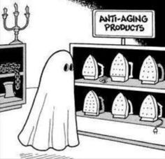 More ghost/laundry humor