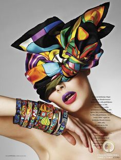 silk scarf editorial - Google Search