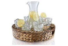 Garden Terrace Beverage Set w/ Tray | The Daily Dish | One Kings Lane