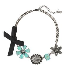 Simply Vera Vera Wang Flower & Bow Necklace