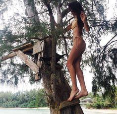 Mahina Alexander in Bliss bikini by Kaohs swim