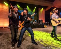 Photographing the concert event of the LoCash Cowboys at the Gaylord Texan.