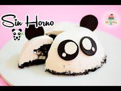 CHEESECAKE DE OREO SIN HORNO | PANDA | MIS PASTELITOS - YouTube