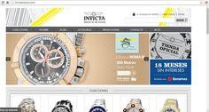 Nuestra tienda Invicta en línea. Con envío a toda la República Mexicana. Invictamexico.com