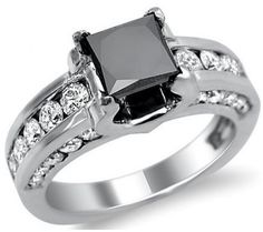 unique engagement rings - Google Search