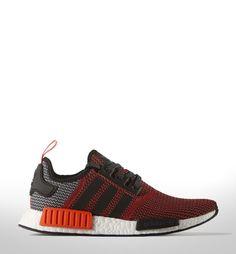 adidas Originals NMD Primeknit: Red/Grey