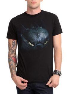 How To Train Your Dragon Toothless Eyes T-Shirt