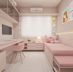 Retro 80s Room Decor Small Apartment Bedrooms, Small Apartments, Small Spaces, City Apartments, Apartment Ideas, Awesome Bedrooms, Cool Rooms, Minimalist Bedroom, Modern Bedroom