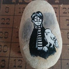 Another small Harry Potter rock. This one will be auctioned tonight during my…