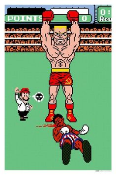 ROCKY IV meets MIKE TYSON'S PUNCH OUT! Ivan Drago vs Apollo Creed