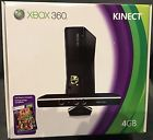 Microsoft Xbox 360 S Kinect 4 GB Matte Black Console
