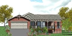 Jarrah-Acreage-house-plan - Compact & Stylish