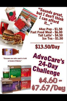 AdvoCare is changing my life!! Let me help you get your weight loss started! www.advocare.com/140546530