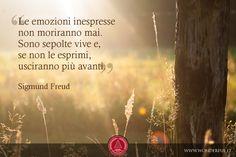 Le emozioni inespresse non moriranno mai. Sono sepolte vive e, se non le esprimi, usciranno più avanti. (S. Freud) #leadership