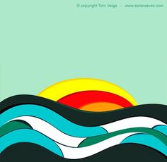 These wave series by Tom Veiga are amazing. I want all of them!