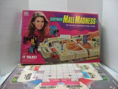 Board Games were FUN. Mall Madness, setting this up was the fun part.