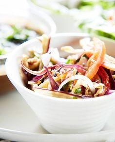 Salade d'aubergines à la ciboulette pour 2 personnes - Recettes Elle à Table