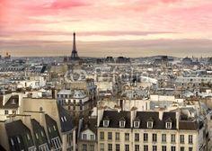 Papier peint paris tour eiffel - paris • PIXERS.fr