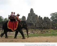 Angkor Thom, Cambodia place to visit