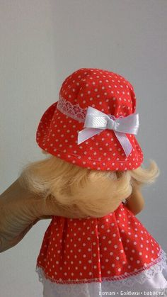 Построение выкройки шляпки для любой куклы / Шапочки для кукол. Выкройки и схемы вязания / Бэйбики. Куклы фото. Одежда для кукол Doll Clothes Patterns, Clothing Patterns, Homemade Dolls, American Girl Clothes, Baby Dolls, Girl Outfits, Stitch, Dresses, Fashion