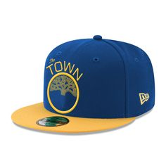 cc142da2d11d8 Golden State Warriors New Era Free Throw Collection  The Town  9FORTY  Snapback Cap - Grey
