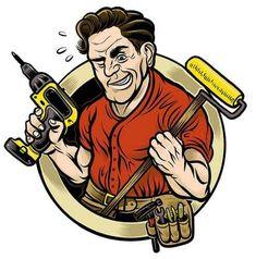 14 Best Handyman Logos images in 2019  Handyman logo Cartoons Dibujo