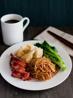 [New Blog Post] How to Cook Wantan Mee with Chicken Char Siew and Sui Gow
