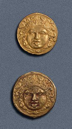 Scythian Medusa Plaques, 4th Century BC