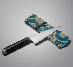 Modern French Chef by Don Andrade - a one-of-a-kind handmade kitchen knife for the home or professional chef.