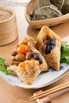 粽子,汤圆,中国食品,东方食品,食品_a84bde744_粽子_创意图片_Getty Images China
