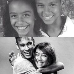 Neymar and her sister