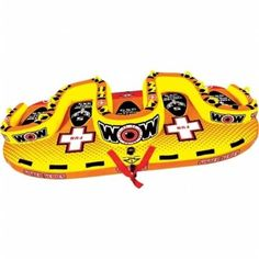 WOW World of Watersports 15-1090 Tootsie 5P Sister Towable, As Shown