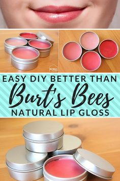 Easy, all-natural lip gloss tutorial. How to make lip gloss the easy way (makes a great gift or stocking stuffer) Easy, all-natural lip gloss tutorial. How to make lip gloss the easy way (makes a great gift or stocking stuffer) Best Lip Gloss, Diy Lip Gloss, Lip Gloss Colors, Lip Colors, Burts Bees Lip Gloss, Burts Bees Makeup, Bee Makeup, Makeup Geek, Natural Beauty Tips