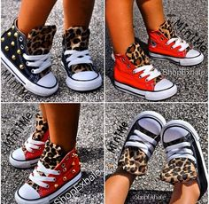 Converse with Leopard Detail @ShopExhale