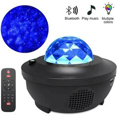 Colorful Galaxy Starry Sky Projector