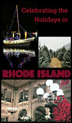 Read on to help plan all the charming, historic or just down right Rhode Island experiences to enhance your holiday season. #Christmas #RhodeIsland #TBIN #Holidays #neweingland