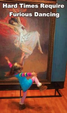 """Hard times require furious dancing"" ~ Alice Walker • artist: John Lavery painting of Anna Pavlova (1911) • photo: via Kirsty Kelly on Flickr"
