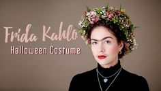 The Best Latin-Inspired Halloween Makeup Tutorials From YouTube Frida Kahlo