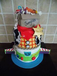 Toy Story cake is toy story disney...... idk but its cute!!!!!