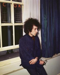 Bob Dylan hanging out in London, England in 1965., England in 1965.