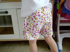 Short jersey Ottobre 3/2012 Possibilité de bas de pyjama été